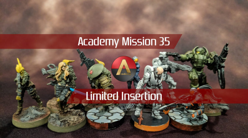 Mission 035: Limited Insertion