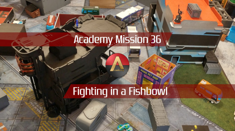 Mission 036 Report: Fighting in a Fishbowl